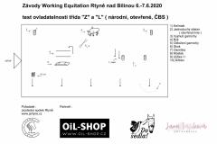Test ovladatelnosti pro soutěže NS Z, NS L, OS Z, ČBS Z